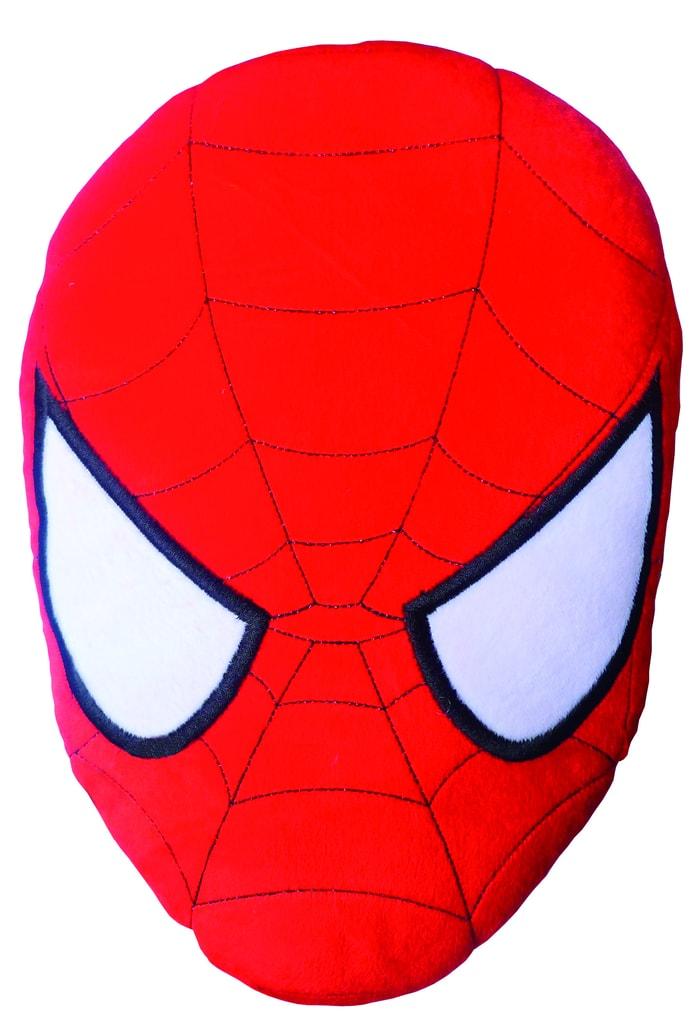 CTI Vankúšik 3D maska Spiderman 38cm