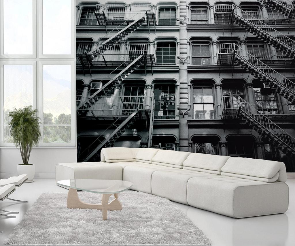 1Wall 1Wall fototapeta New York bytový dom 315x232 cm