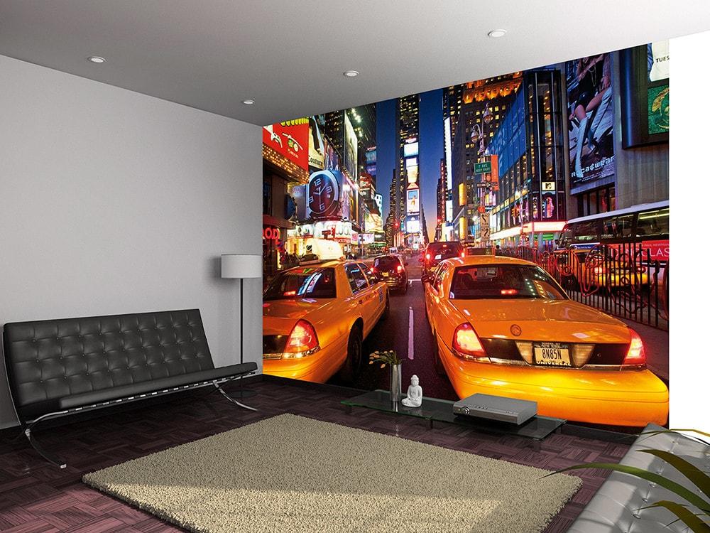 1Wall 1Wall fototapeta New York Times square s taxíkmi 360x253 cm