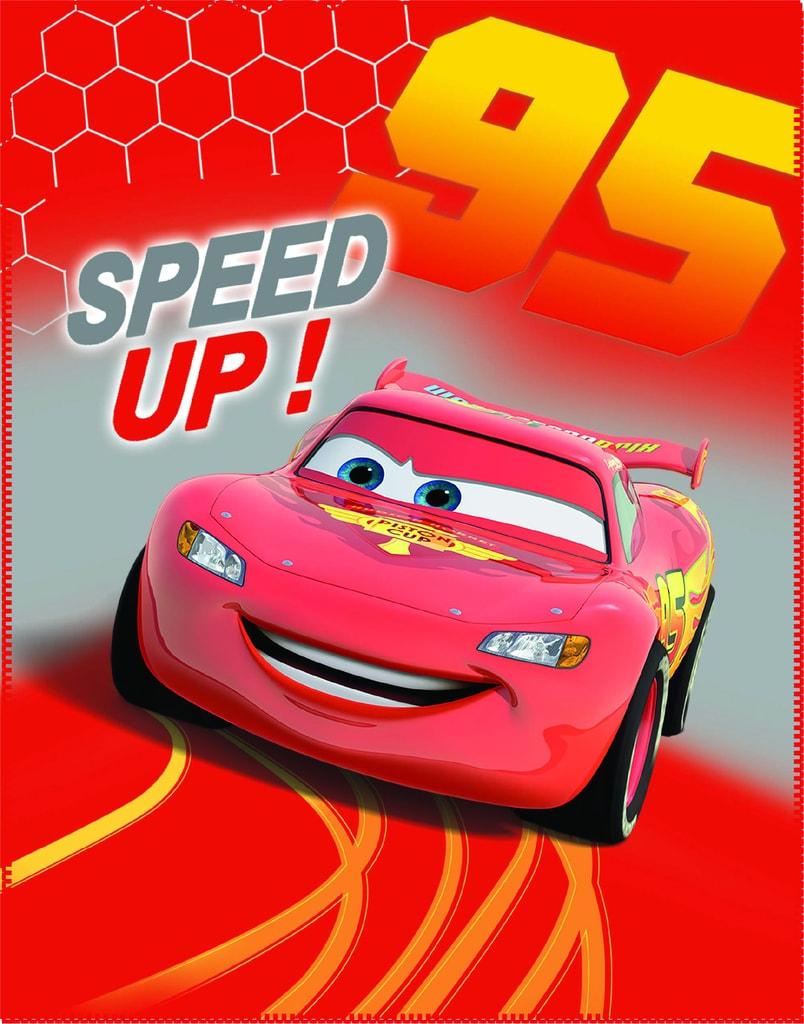 CTI CTI Fleece dečka Cars (Autá) Go Go Go 110x140