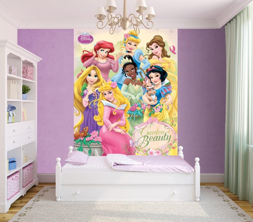 1Wall 1Wall fototapeta Disney Princezné 158x232 cm