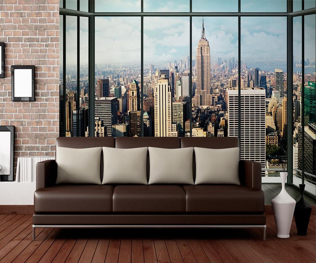1Wall 1Wall fototapeta Výhľad na New York 315x232 cm