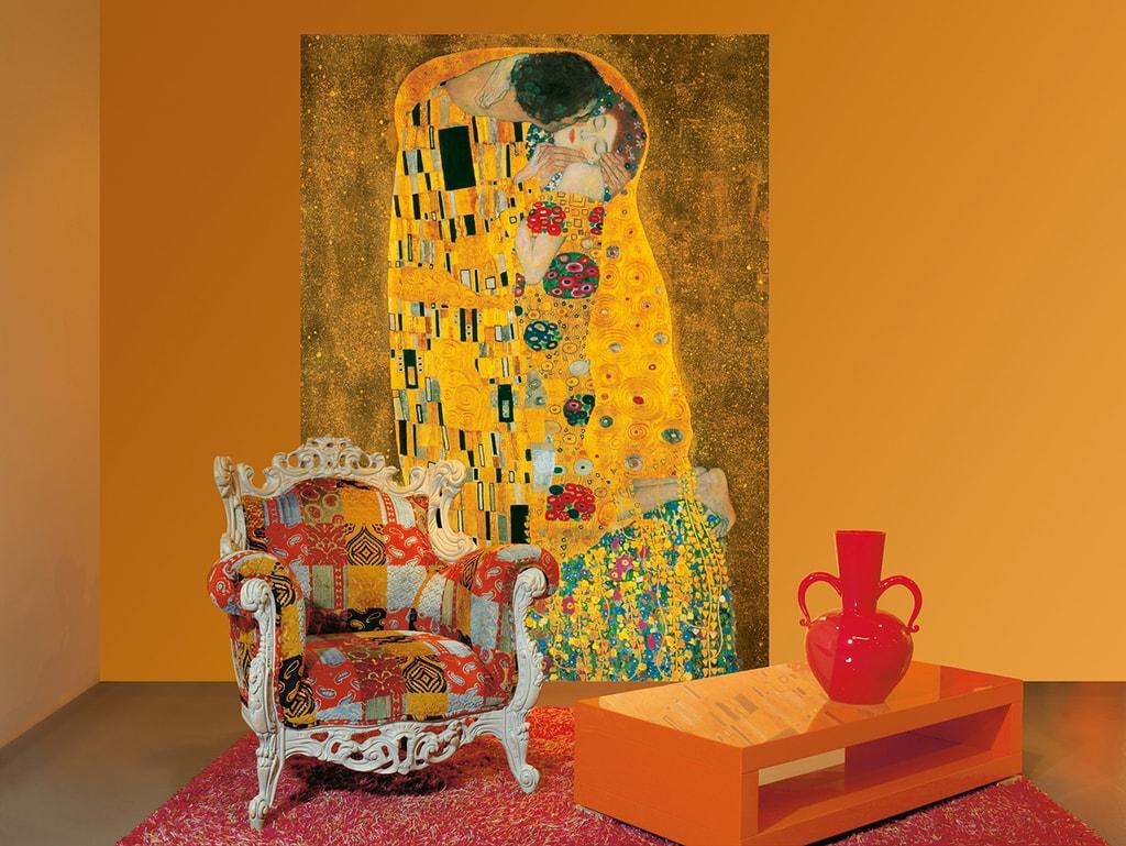 Wizard+Genius W+G Giant Art® Gustav Klimt: The Kiss 115x175 cm