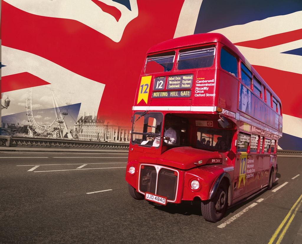 1Wall 1Wall fototapeta Londýnsky autobus 315x232 cm
