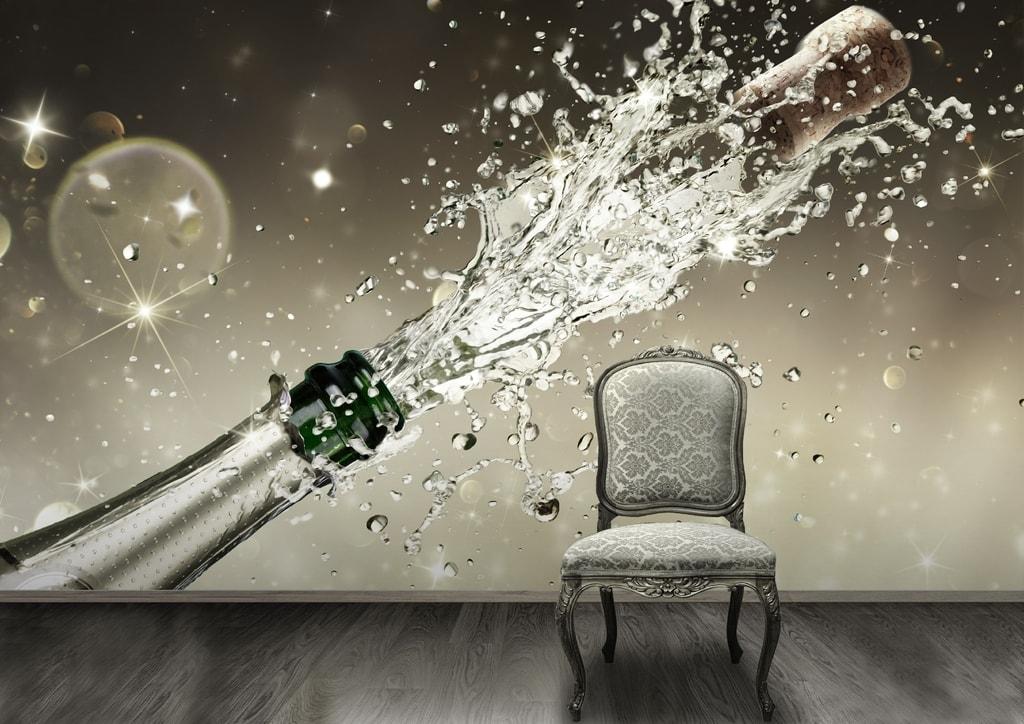1Wall 1Wall fototapeta Šampanské 315x232 cm