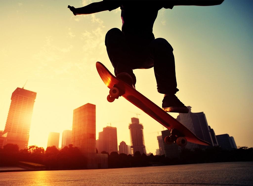 1Wall 1Wall fototapeta Skateboardista 315x232 cm