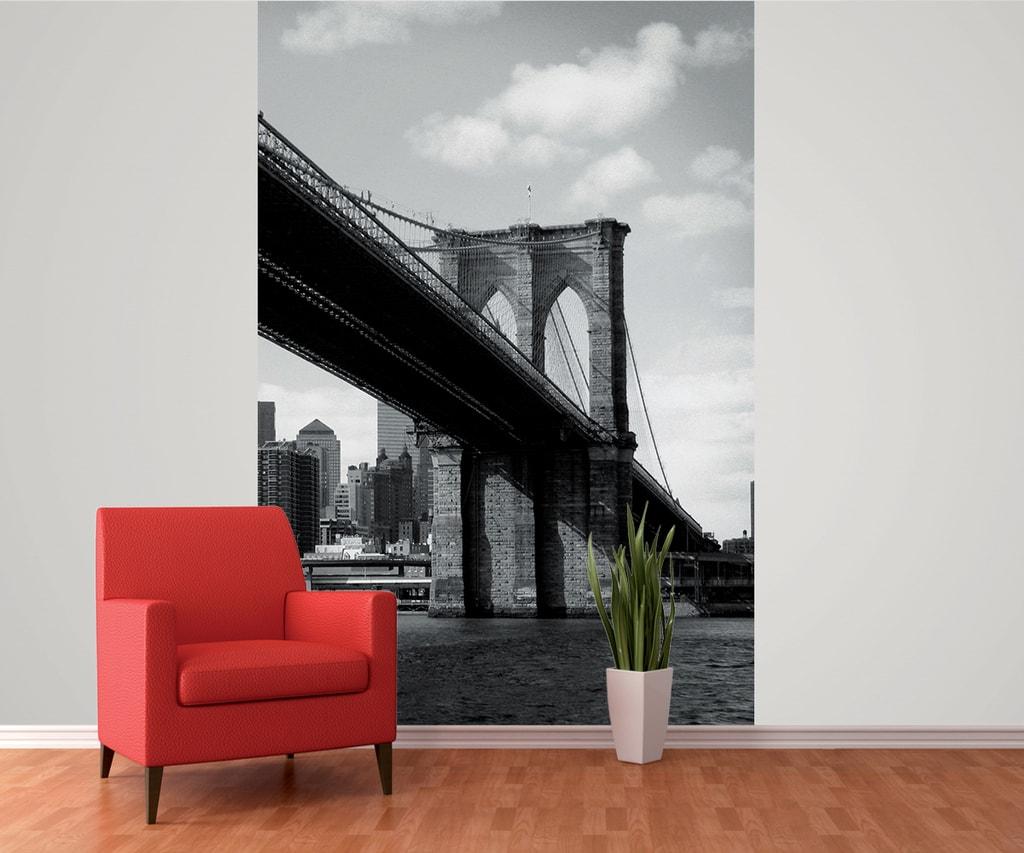 1Wall 1Wall fototapeta New York-Brooklynský most 158x232 cm