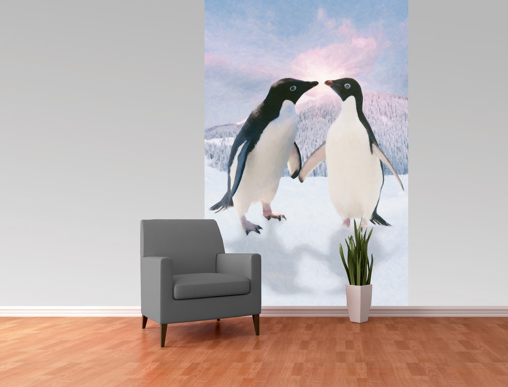 1Wall 1Wall fototapeta Tučniaci 158x232 cm