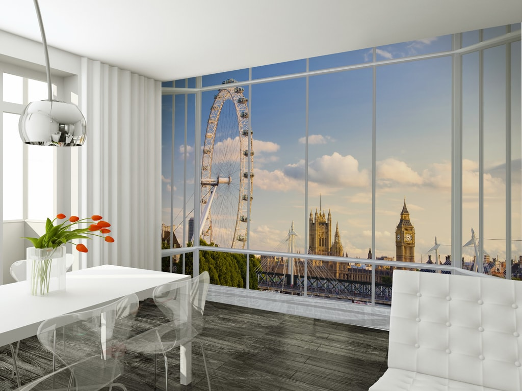 1Wall 1Wall fototapeta Výhľad na Londýn 315x232 cm