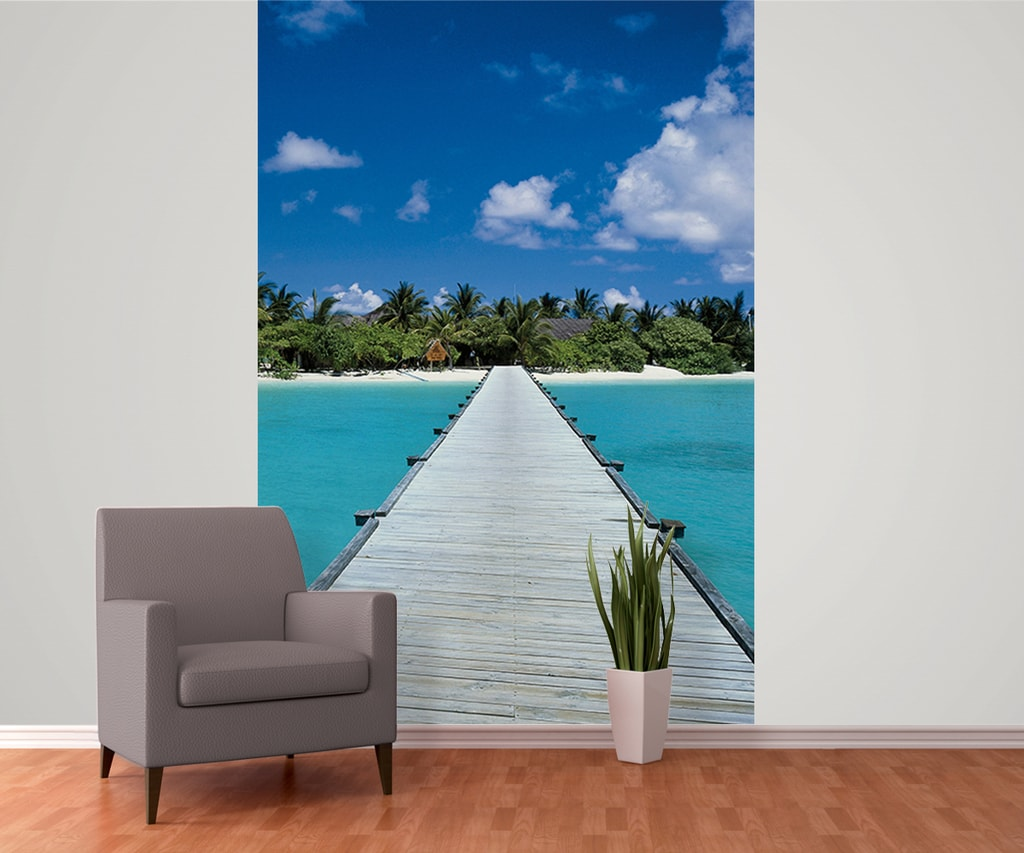 1Wall 1Wall fototapeta Maledivy 158x232 cm