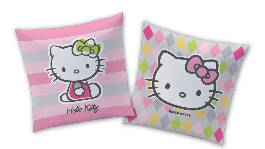 CTI Vankúšik Hello Kitty Mady jarná kolekcia 40x40 cm