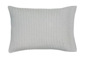Vandyck Luxusní povlak na polštář Home Piqué waffle 40x55cm Mole grey - šedá